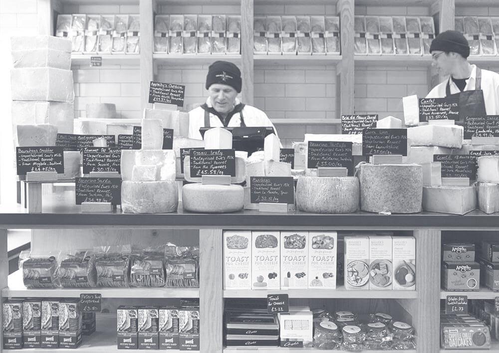 George Mewes: Artisan Cheese & Cheesemonger Edinburgh store