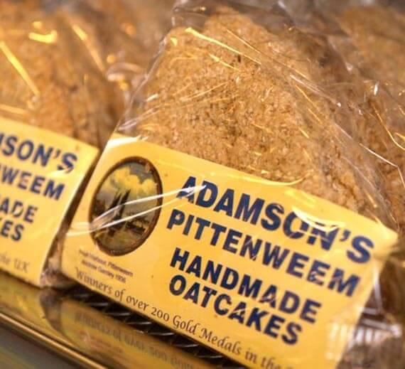 Adamson's Pittenweem Oatcakes