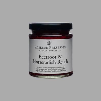 ROSEBUD BEETROOT & HORSERADISH RELISH