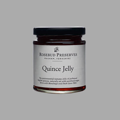 Rosebud Quince Jelly