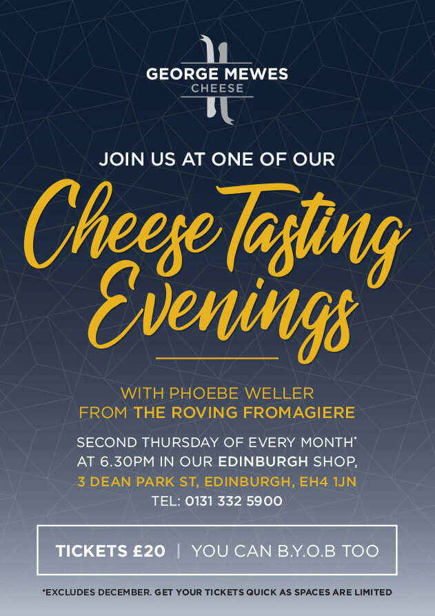 George Mewes Cheese Tasting Evenings Edinburgh