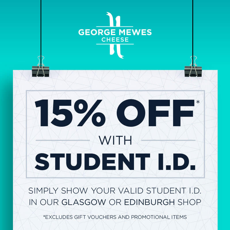 George Mewes Cheese – Student discount