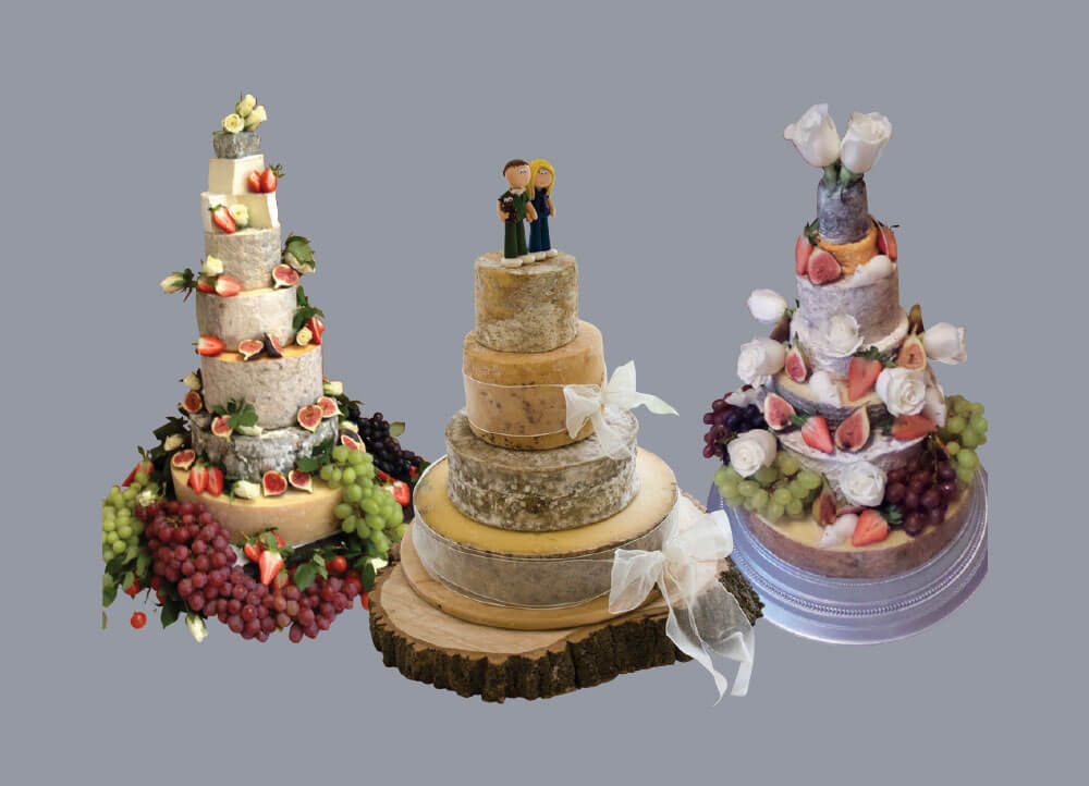 George Mewes Cheese Wedding Cakes
